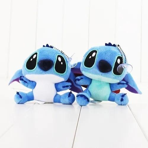 Pelúcia Com Ventosa Stitch: Lilo E Stitch