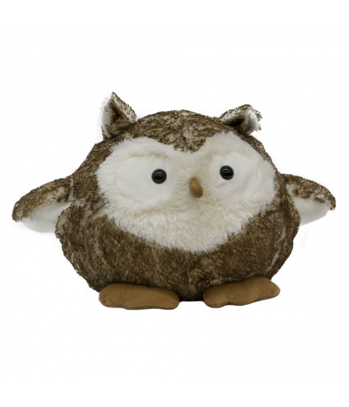 Pelúcia Coruja Owl Marrom 40cm