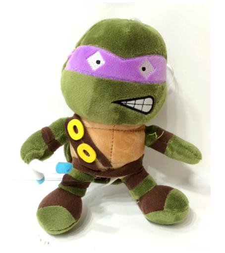 Pelúcia Donatello: Tartarugas Ninja