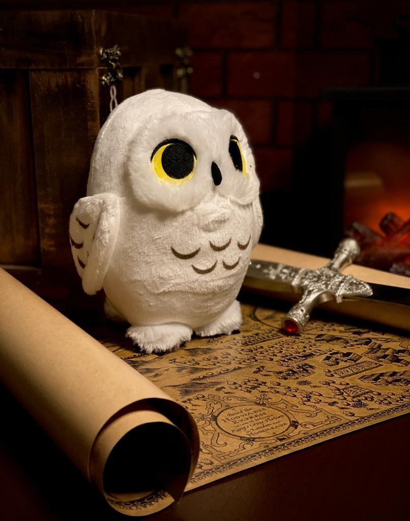 Pelúcia Coruja Edwiges Hedwig: Harry Potter - Funko