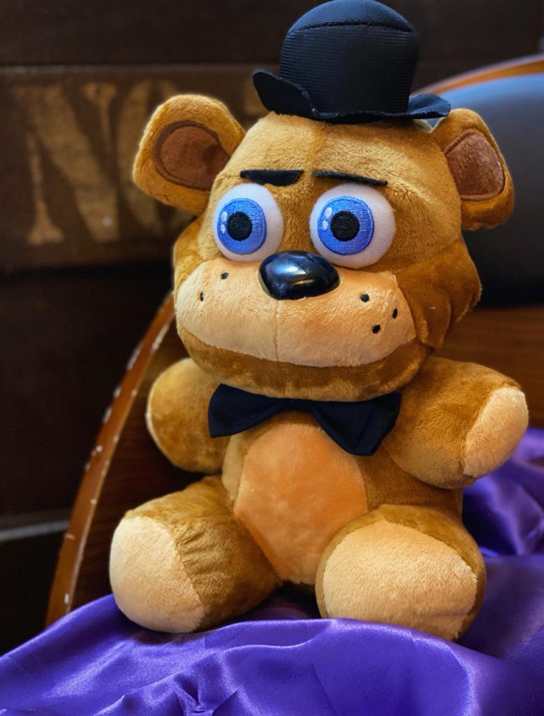 Pelúcia Freddy: Five Nights At Freddy's (FNAF)