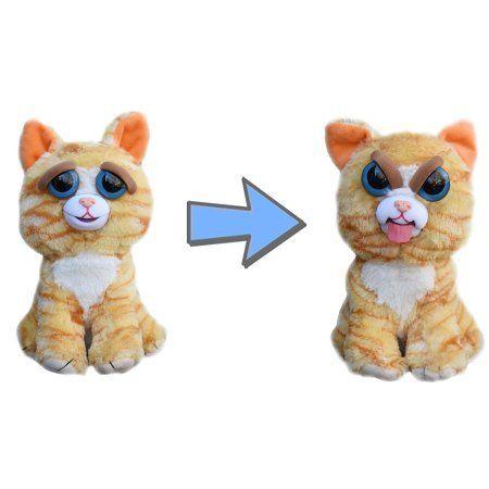 Pelúcia Gato (Amarelo) (Mostrando a Língua): Feisty Pets