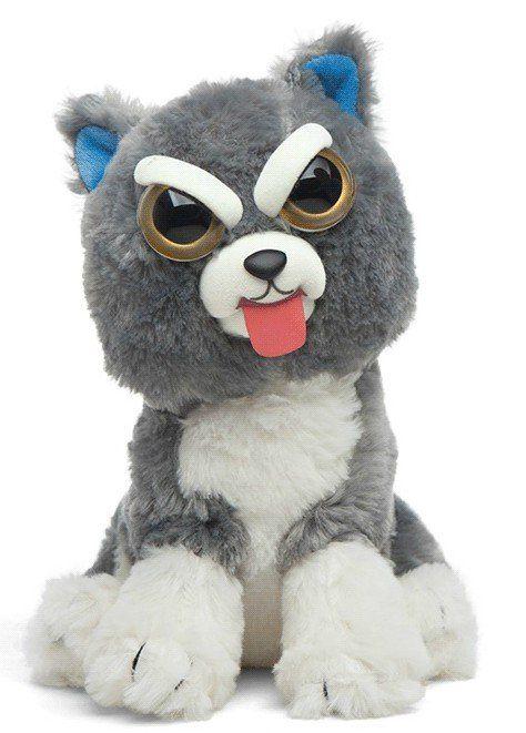Pelúcia Gato (Cinza)(Mostrando a Língua): Feisty Pets