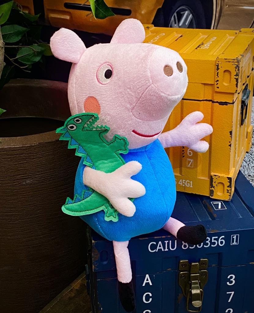 Pelúcia George Pig: Peppa Pig - Sunny