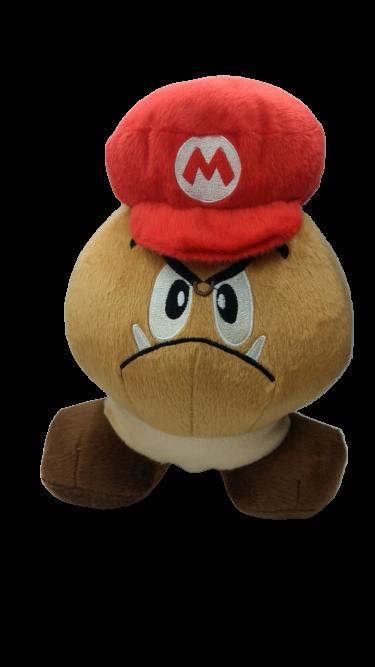 Pelúcia Goomba Com Chapéu: Super Mario Bros