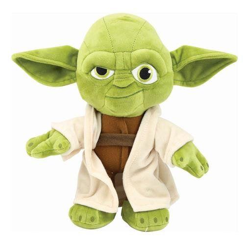 Pelúcia Grande Yoda: Star Wars - DTC