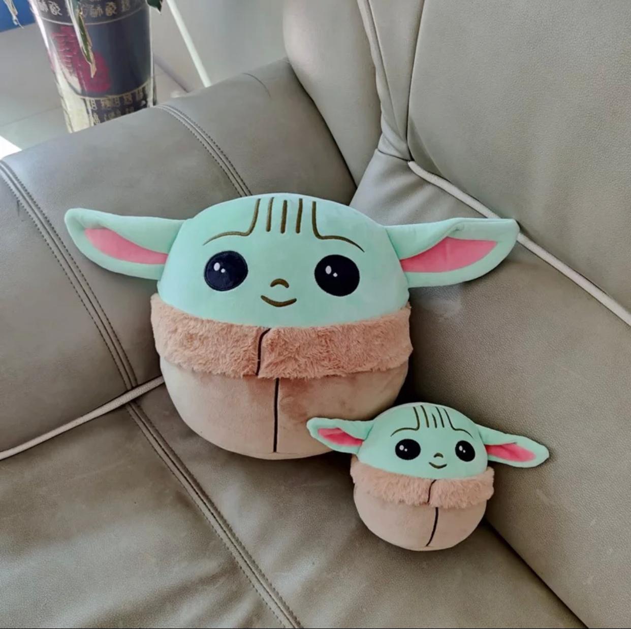 Pelúcia Grogu Baby Yoda The Child: The Mandalorian Grande - EV