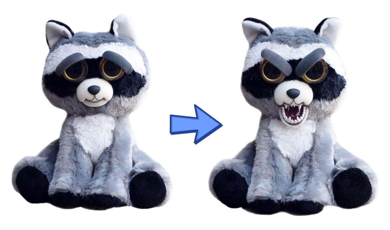 Pelúcia Guaxinim (Raccoon) (Fred Furioso): Feisty Pets (Bonzinho/Malzinho)