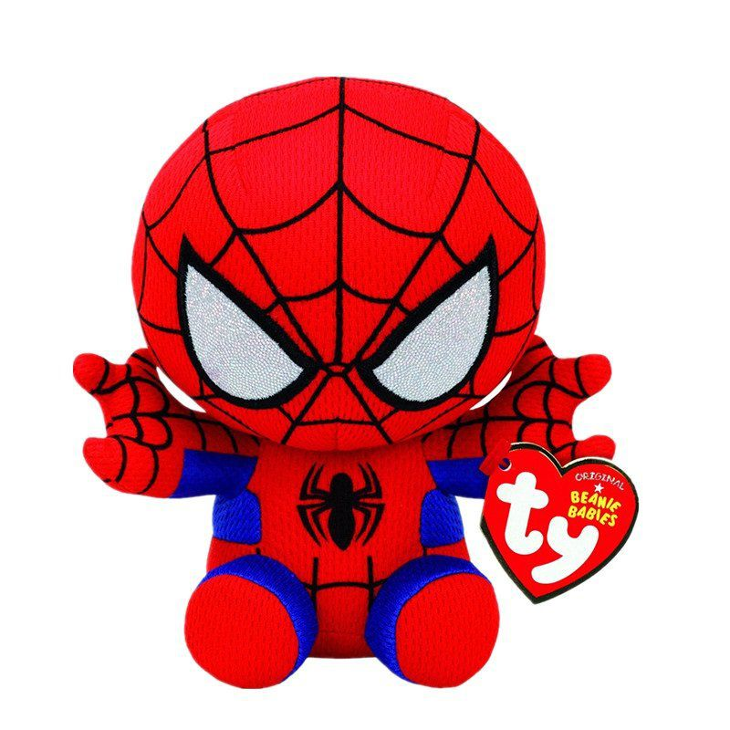 Pelúcia Homem-Aranha (Spider-Man): Marvel (Ty Beanies) - DTC