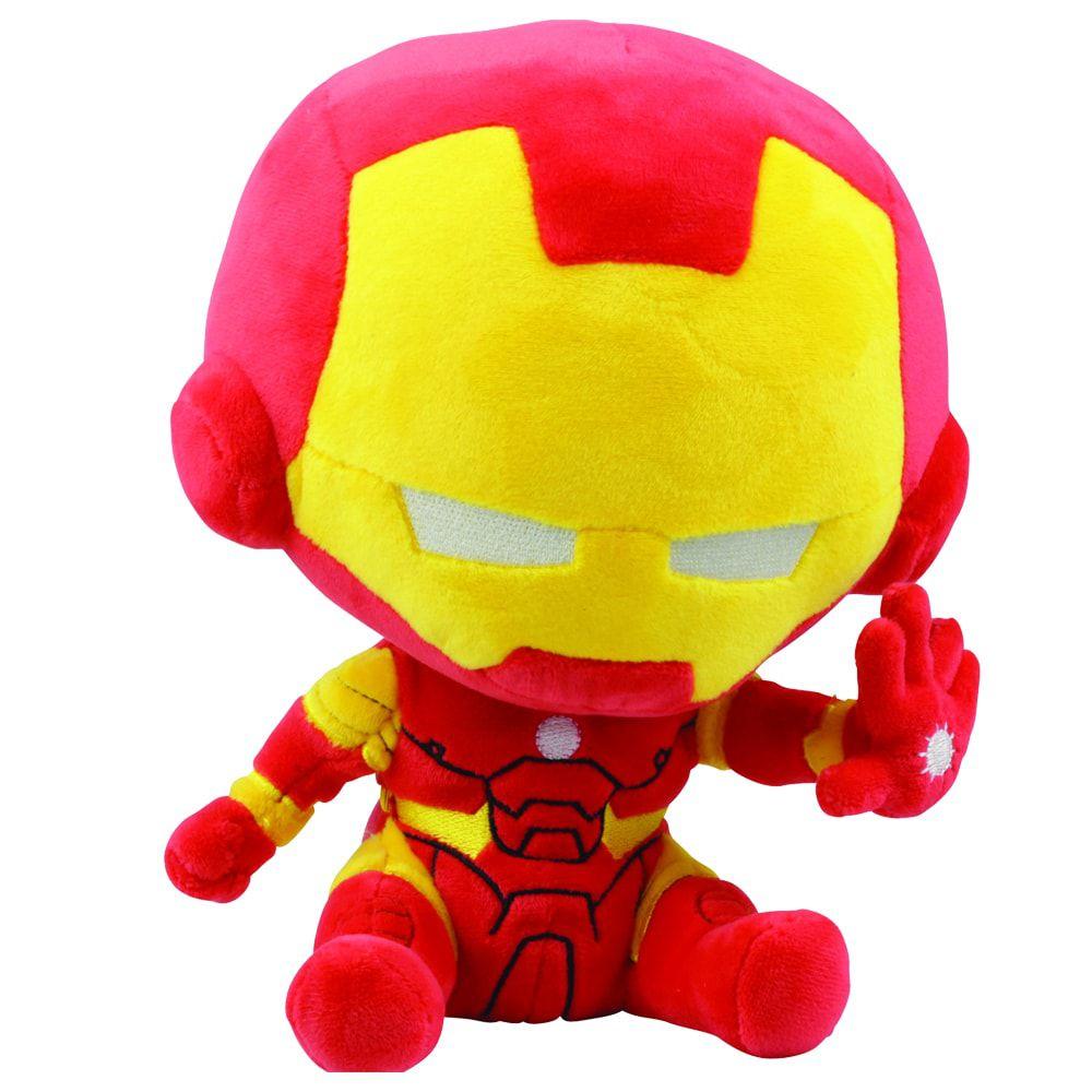 Pelúcia Homem de Ferro (Iron Man): Vingadores (Avengers) Marvel - DTC