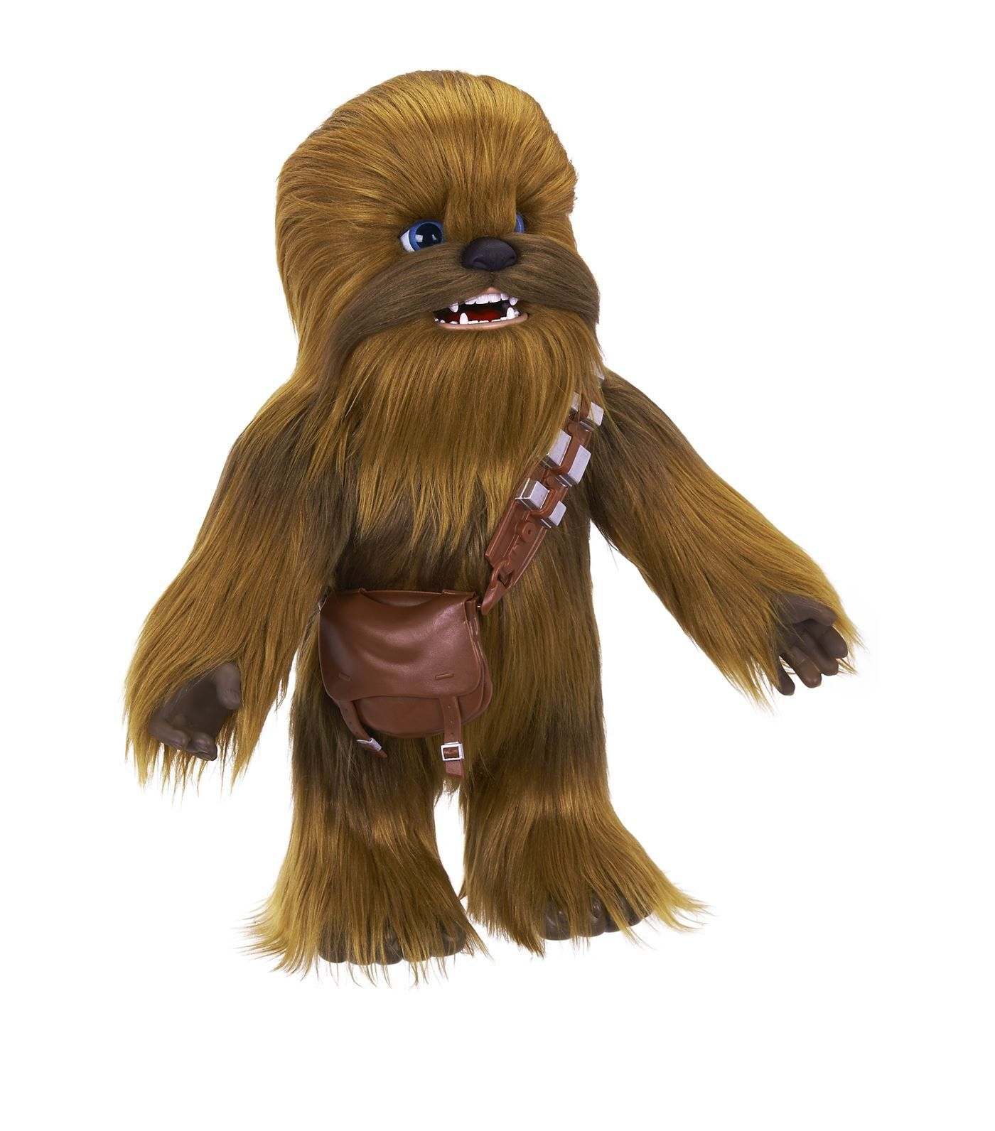 Pelúcia Interativa Chewbacca (FurReal): Star Wars (Som e Movimento) - Hasbro