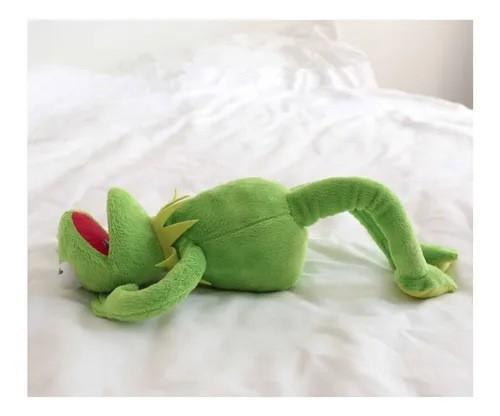Pelúcia Kermit (Caco) O Sapo: Os Muppets