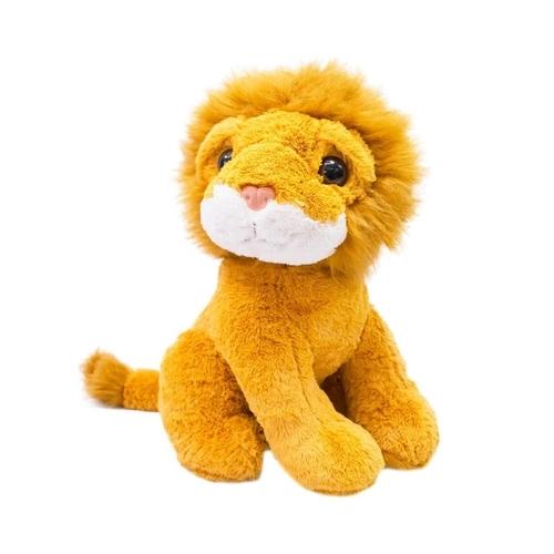 Pelúcia Leão Sentado Médio 50cm