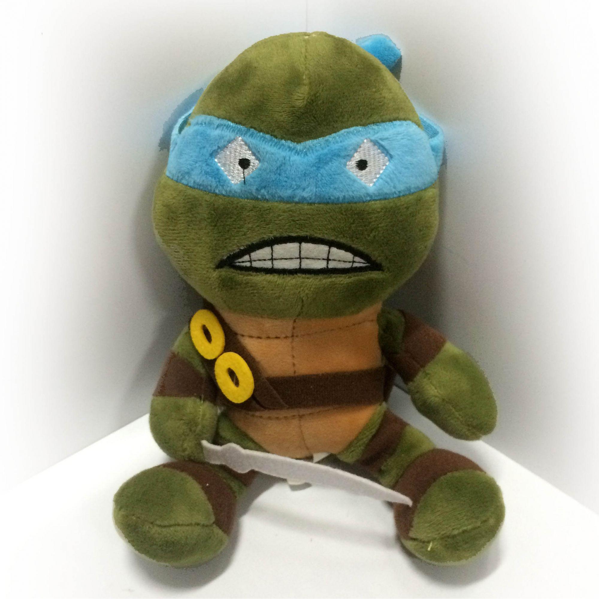 Pelúcia Leonardo: Tartarugas Ninja