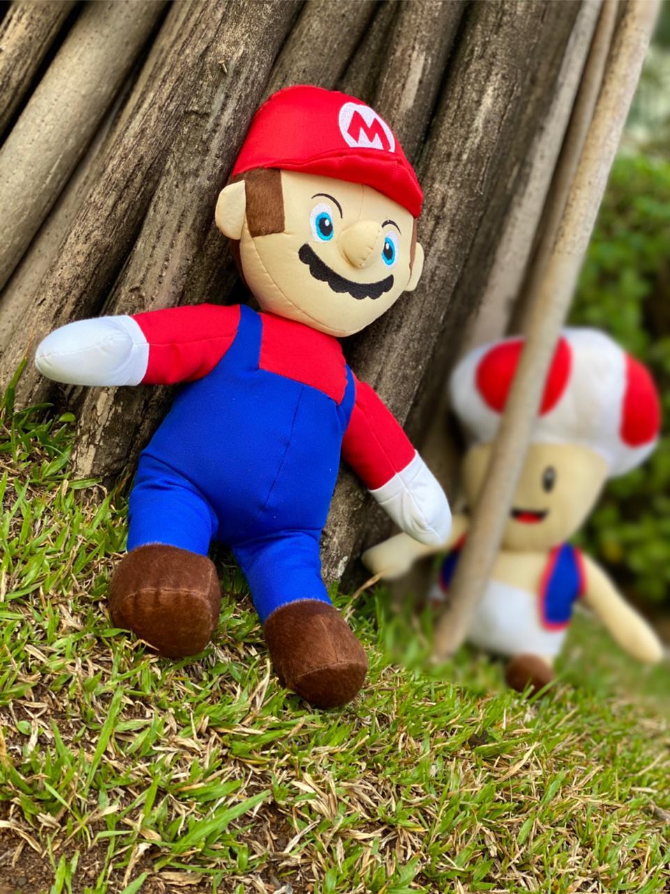 Pelúcia Mario: Super Mario Bros