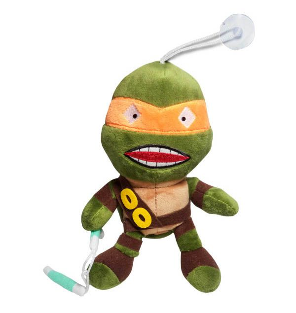 Pelúcia Michelangelo: Tartarugas Ninja