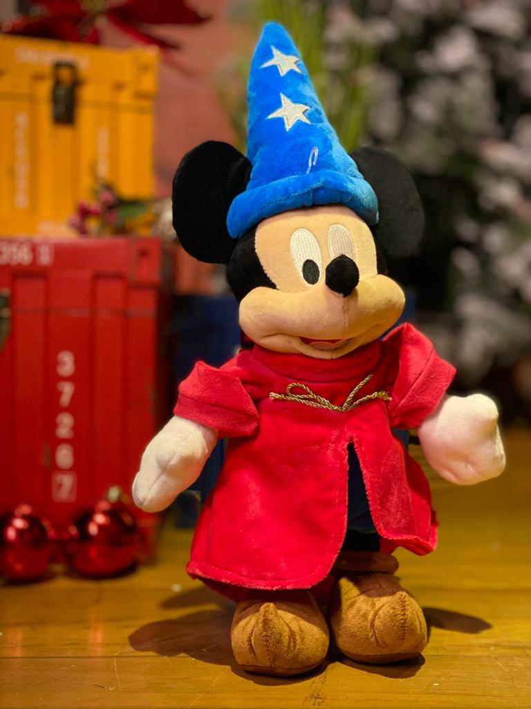 Pelúcia Mickey Feiticeiro: Mickey Fantasy - Disney (35cm)