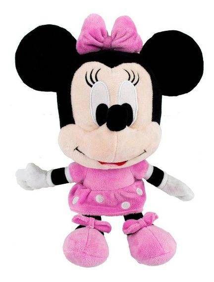 Pelúcia Minnie (Big Head): Disney - FUN