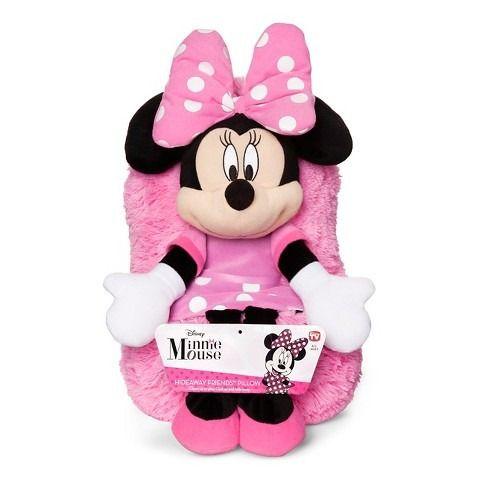 Pelúcia Minnie Mouse: Disney (Hideaway Pets Pillow) - DTC