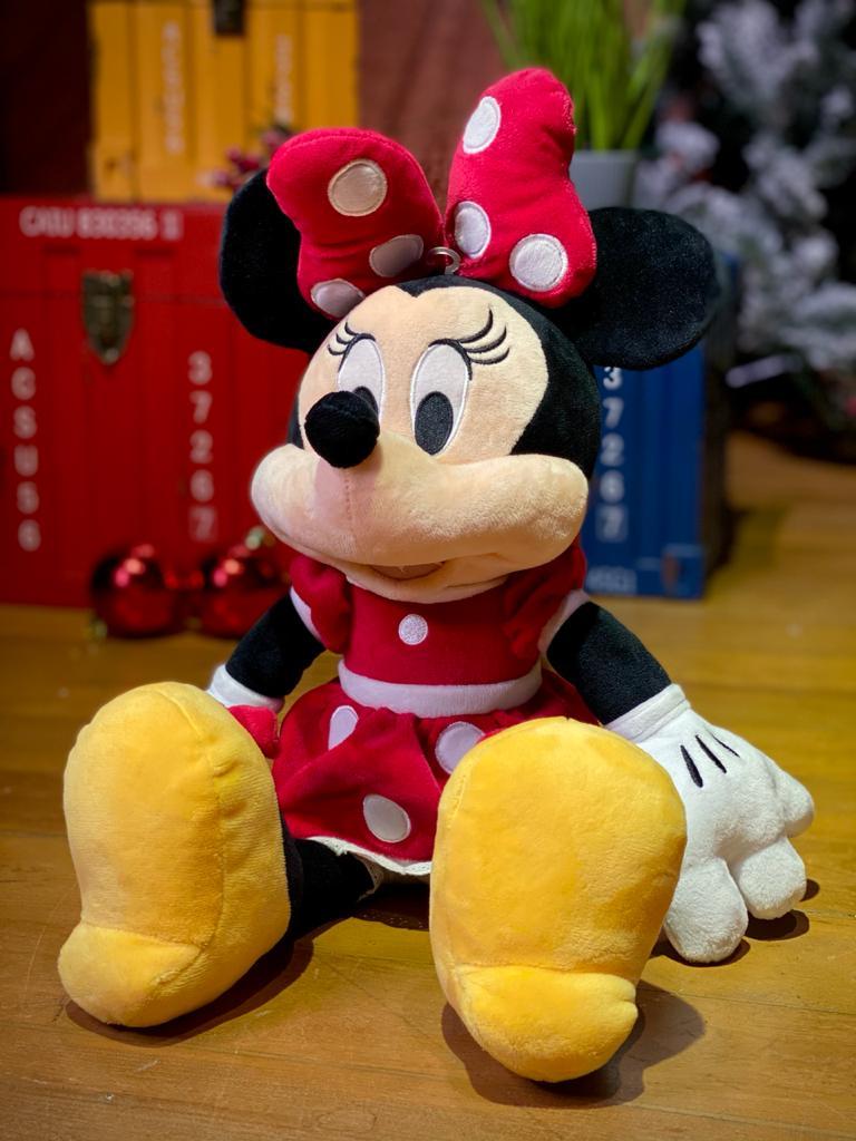 Pelúcia Minnie Mouse: Disney (Mickey e Minnie Mouse) - FUN