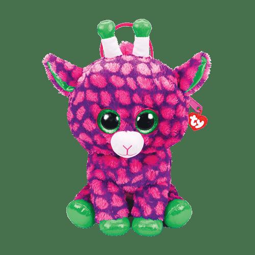 Pelucia Mochila Gilbert (Girafa): Beanie Boos - DTC