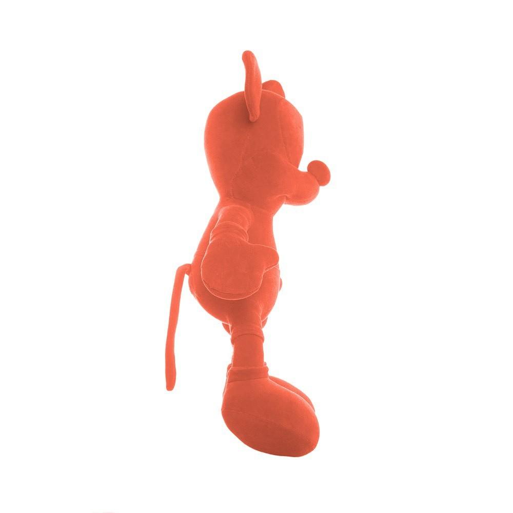 Pelúcia Monocromática (Laranja) Mickey Mouse (Mickey e Minnie) Disney - Orientavida