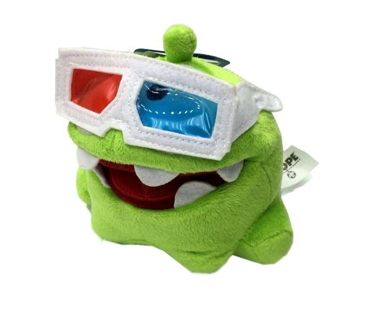 Pelúcia Monstrinho de Óculos 3D: Cut the Rope - DTC