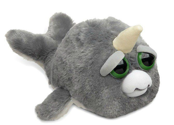 Pelúcia Narval (Exclusivo): Feisty Pets
