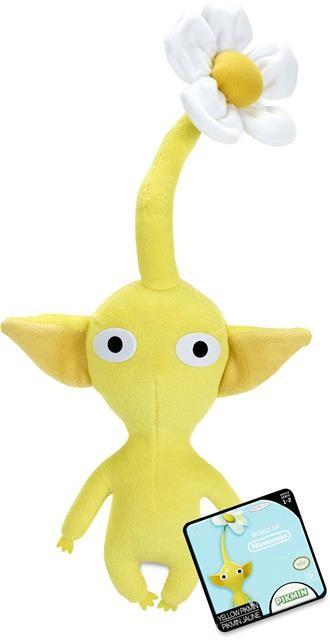 Pelúcia Nitendo: Yellow Pikmin - DTC
