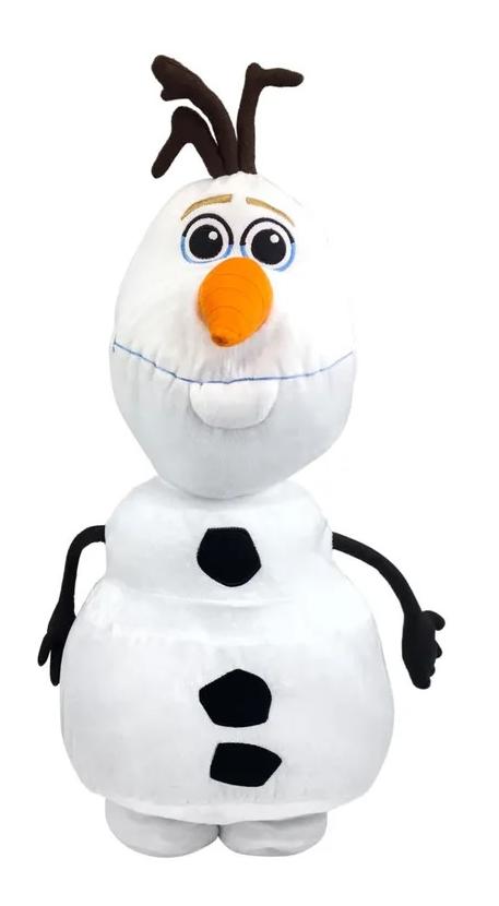 Pelúcia Olaf: Frozen (Disney) - DTC