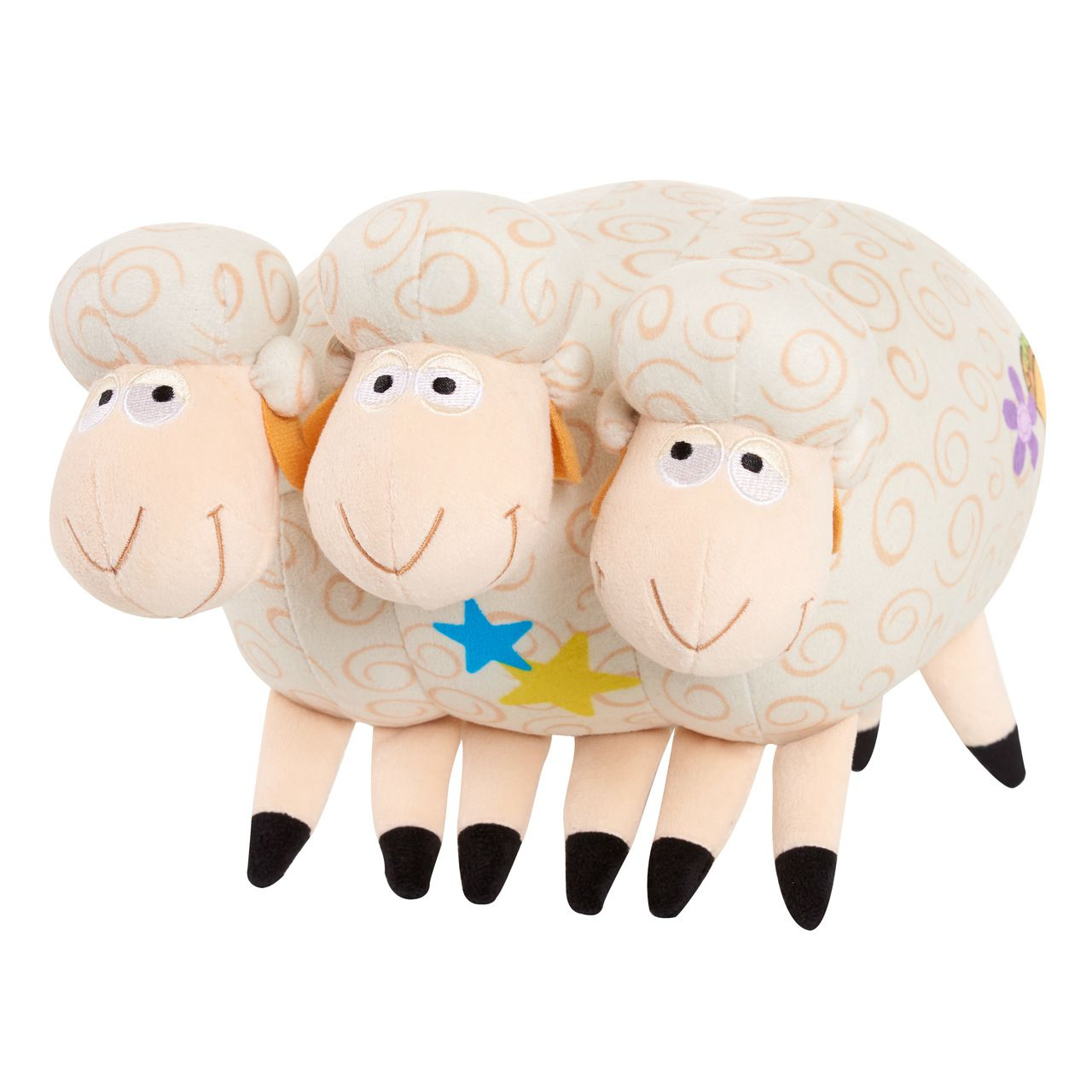 Pelúcia Ovelhas (Billy Goat & Gruff?s): Toy Story 4 (Com Som)
