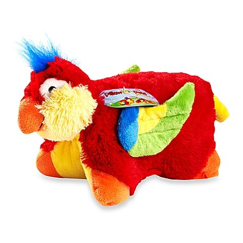 Pelúcia Papagaio: Pillow Pets - DTC