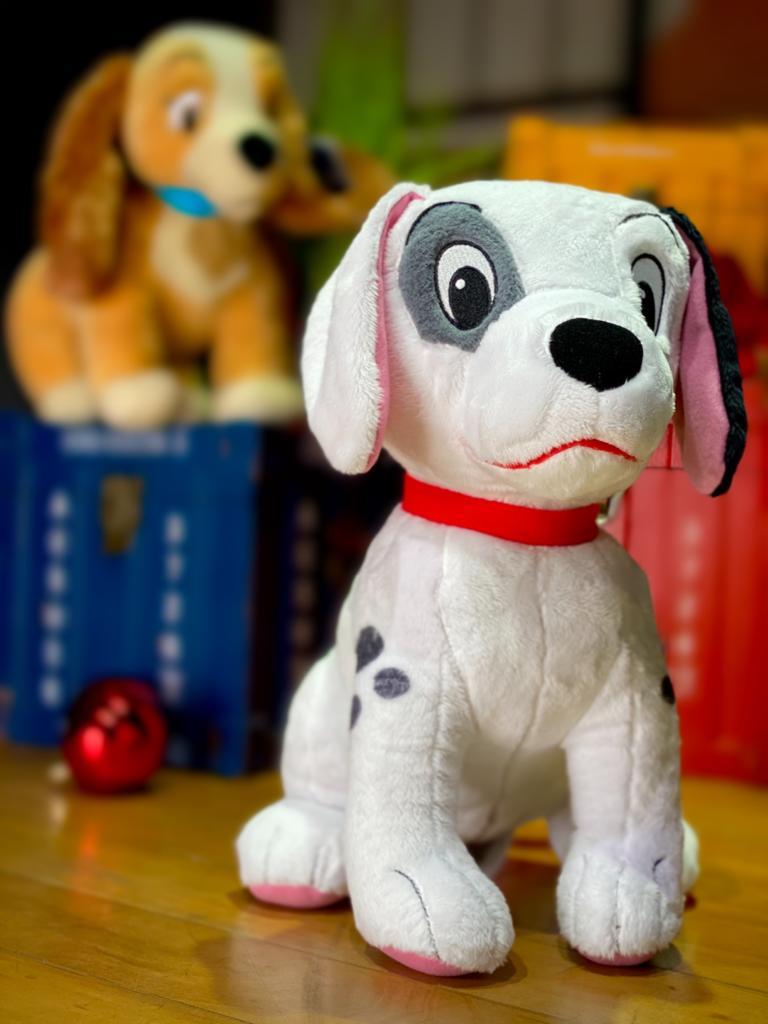 Pelúcia Patch: 101 Dalmatas - Disney (35cm) (Médio)