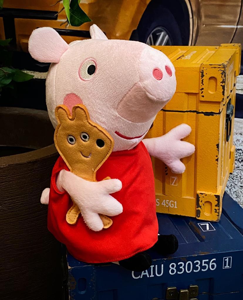 Pelúcia Peppa Pig - Sunny