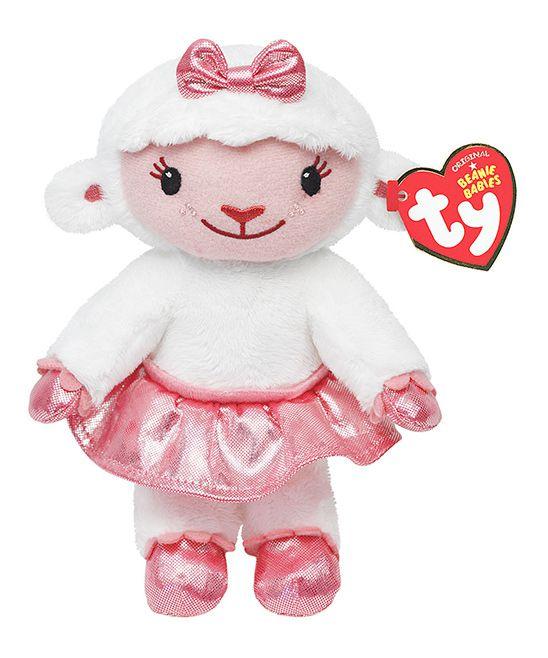 Pelúcia Pequena Lambie: Doutora Brinquedos Beanie Babies - DTC