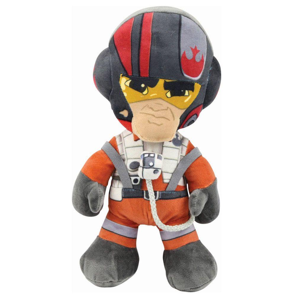 Pelúcia Pequena Poe Dameron: Star Wars - DTC