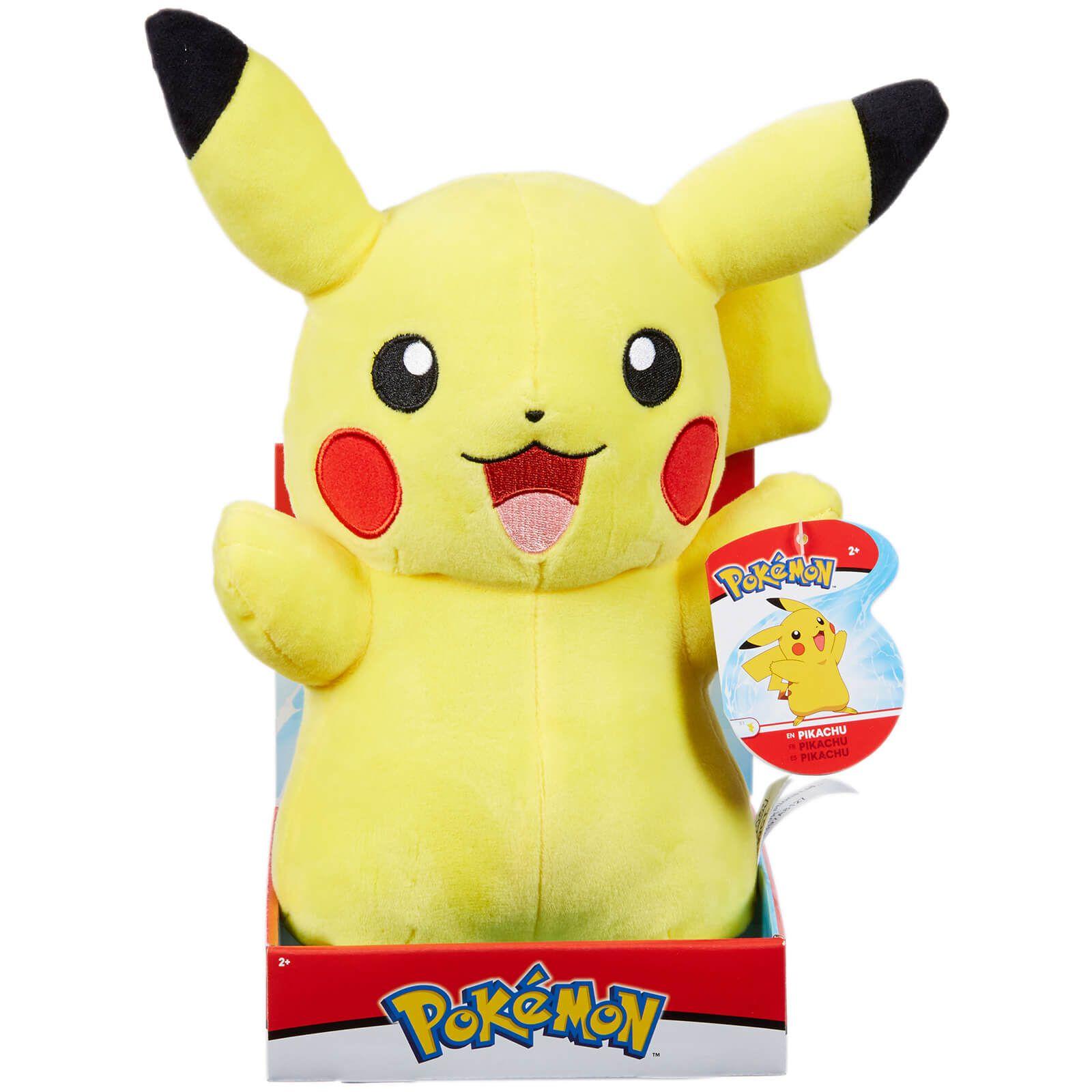 Pelúcia Pikachu: Pokémon - DTC