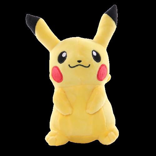 Pelúcia Pikachu Sorridente Sentado: Pokemon 23 Cm - MKP