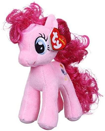 Pelúcia Pinkie Pie: My Little Pony Ty Beanies (23cm) - DTC