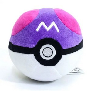 Pelúcia Pokebola - Master Ball: Pokémon - DTC