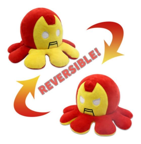Pelúcia Polvo do Humor Homem De Ferro Iron Man: Vingadores Avengers Marvel Comics Kawaii Brinquedo TikTok 20cm