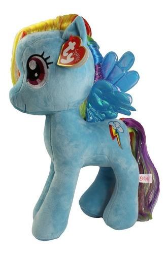 Pelúcia Rainbow Dash: My Little Pony Ty Beanies (23cm) - DTC