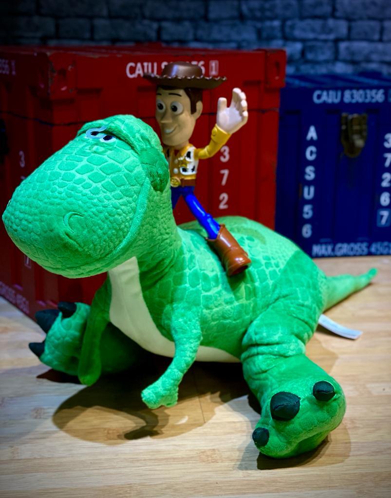 Pelúcia Rex: Toy Story 4 - Disney (37cm)