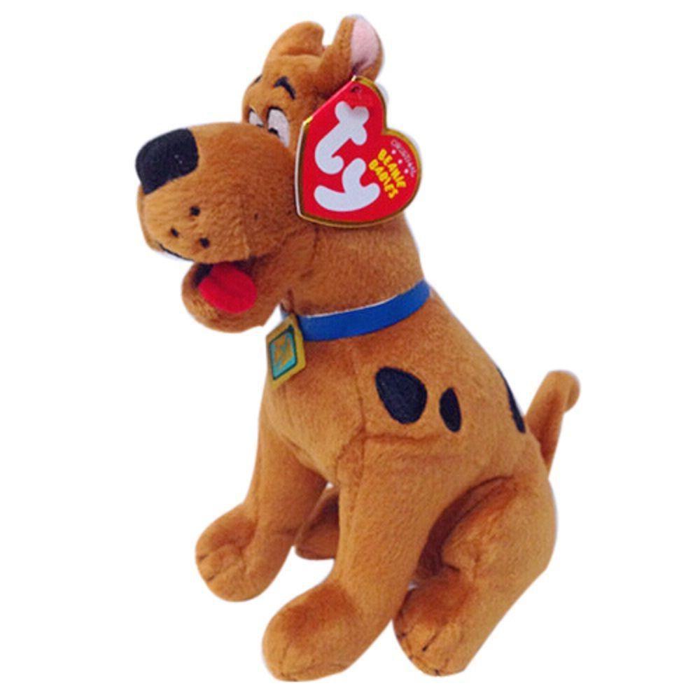 Pelúcia Scooby-Doo: Scooby-Doo! Ty Beanie Boos (Médio) - DTC