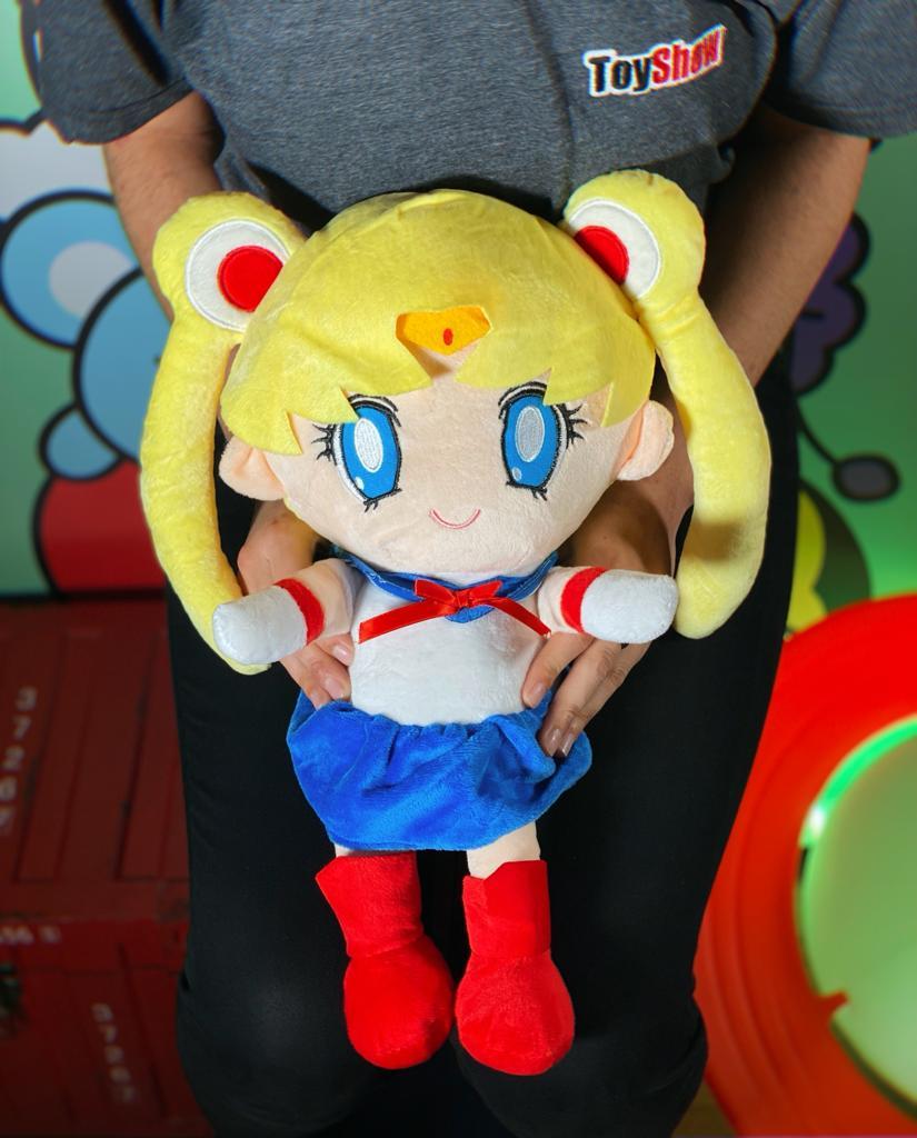 Pelúcia Serena Tsukino Usagi Tsukino Navegante da Lua Sailor Moon - Anime