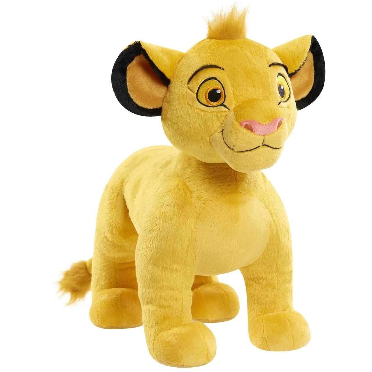 Pelúcia Simba: O Rei Leão (The Lion King) Média 35cm - Disney