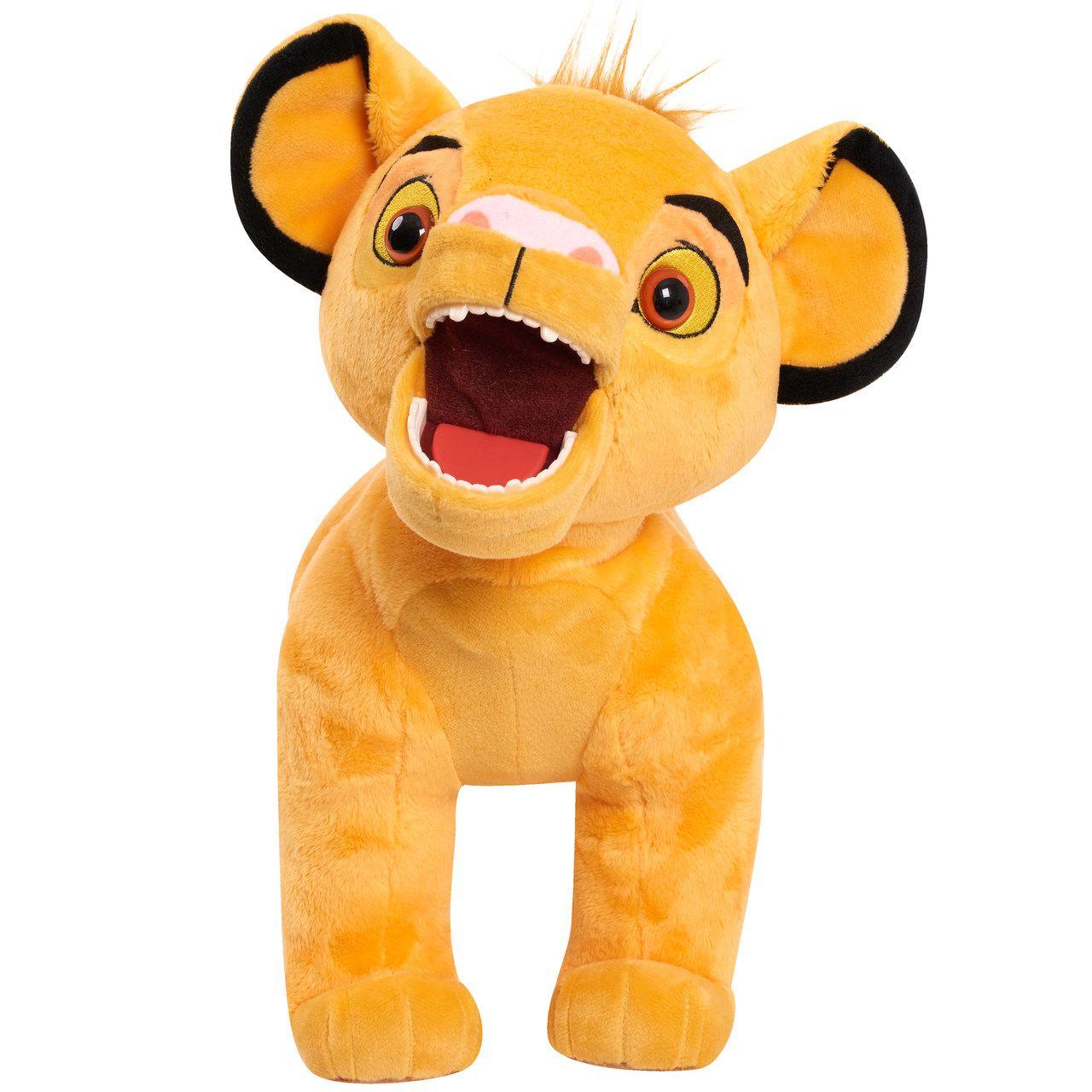 Pelúcia Simba (Som e Movimento): O Rei Leão (The Lion King) - Disney
