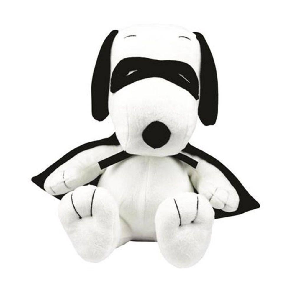 Pelúcia Snoopy Capa e Máscara (Médio): Peanuts - DTC