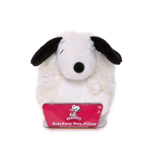 Pelúcia Snoopy (Hideaway Pets Pillow) - DTC