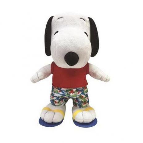 Pelúcia Snoopy Praia (Médio): Peanuts - DTC